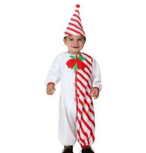 Baby Candy Cane costume Christmas