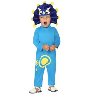 Baby blue dragon costume