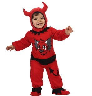 Baby devil halloween costume