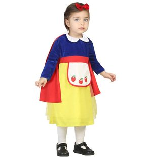 Baby dress up costume with cape snow white
