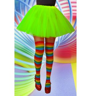 Basic fluorescent green tutu