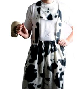 Bavarian with cow-print