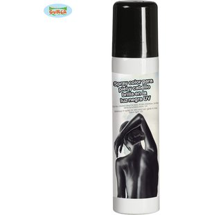 Black make-up spray