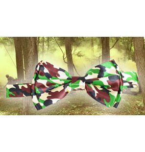 Bow tie Army camouflage