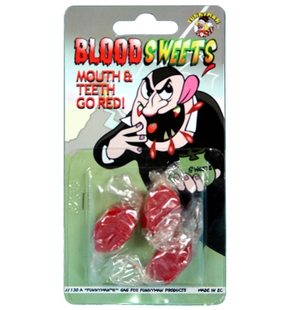 Candies with blood