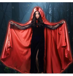 Cape Satin Red