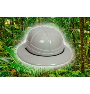 Casque de la jungle