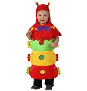 Caterpillar costume for babies