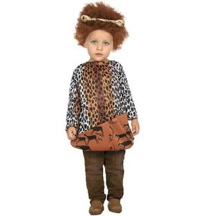 Caveman costume for baby boy