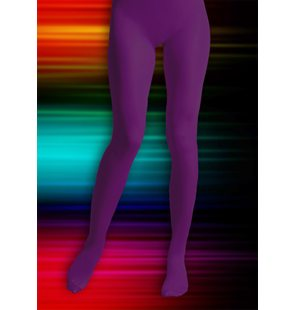 Collants violets taille s-m