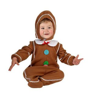Cookie baby costume