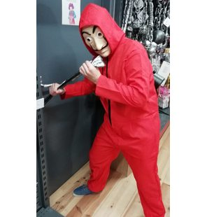 Costume red overalls La Casa De Papel/Money Heist