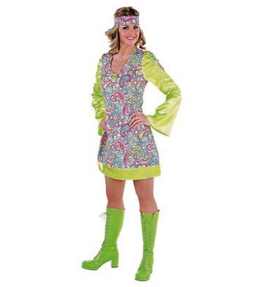 70 \'s disco happy dress