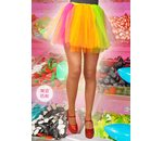 Basic multi coloured tutu