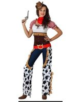 COWGIRL COSTUME, ADULT SIZE 3 AT-15731