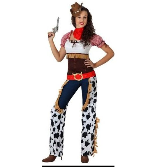 COWGIRL COSTUME ADULT SIZE 3  sc 1 st  Las Fiestas & COWGIRL COSTUME ADULT SIZE 3 AT-15731 @ Las Fiestas