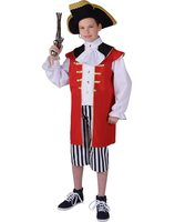 Captain Hook costume child MA-216012