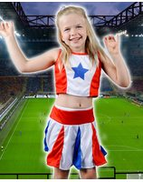 Cheerleader girl child LASK0534
