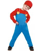 Child construction worker child costume GU-81874/81875/81876