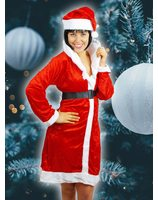 Christmas Misses Claus costume LASK0621