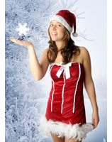 Christmas girl Sexy Jingle LASK0048