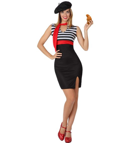 Costume French woman  sc 1 st  Las Fiestas & Costume French woman AT-15305/15304/15303 @ Las Fiestas