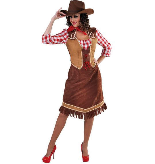 Cowgirl dress for ladies