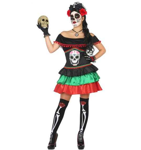 Day of the Dead Mexican Halloween Costume