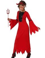 Demonia Devil dress costume for girls AT-10576/10574/10576/24525/10575