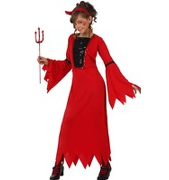 Demonia Devil dress costume for girls