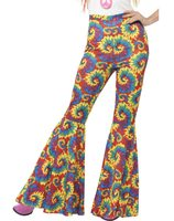 Disco trousers tie dye SM-21459