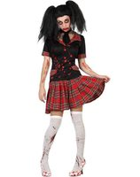 Fancy dress costume school uniform with blood AT-22686/22687/22688