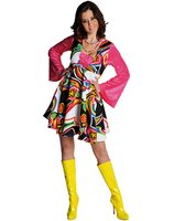 Fantasy 70 's dress 211139