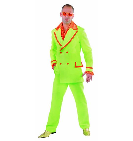 Fluo Suit disco for men