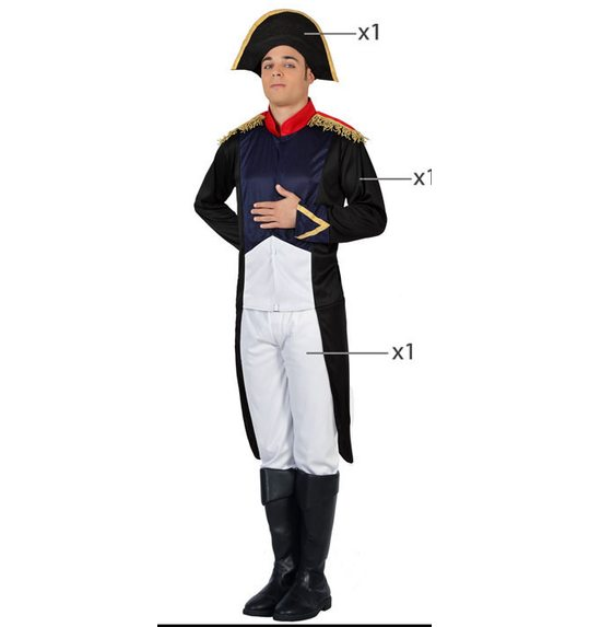 French General napoleon costume