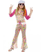 Groovy glam costume for girls SM-33395