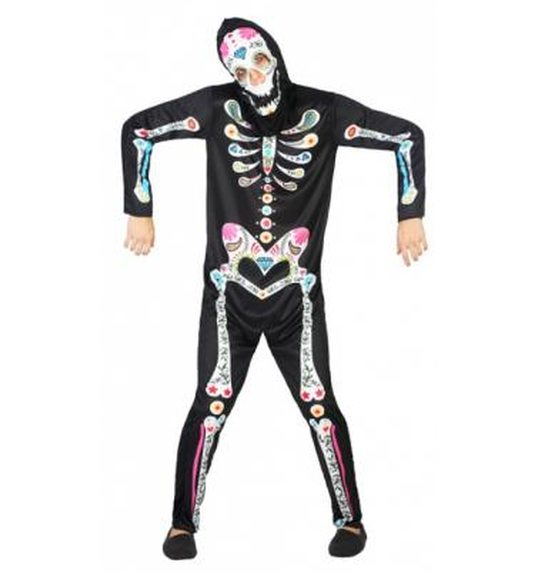 Halloween Day Of The Dead Skeleton Suit For Men At 347203472134723