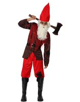 Halloween horror GNOME costume AT-14912/14913
