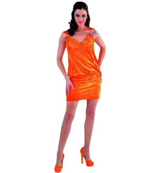 Holland orange dress