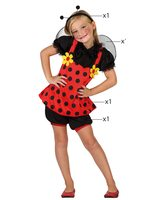 Ladybug girl fancy dress costume AT-23895/23896
