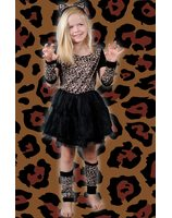Leopard girl child LASK0536