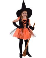 Little witch black orange MA-216015