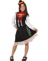 Mariachi mexican dress up costume for girls AT-23635/23636