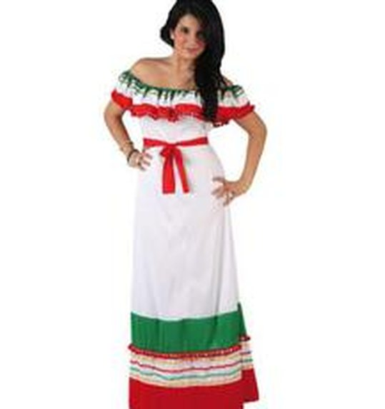 Mexican lady dress up costume