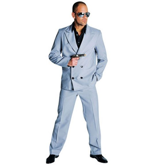 Miami vice costume grey
