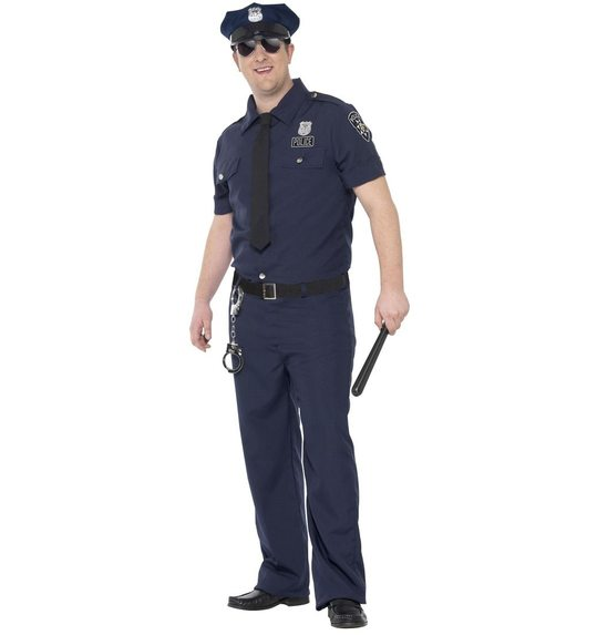 Police suit for men