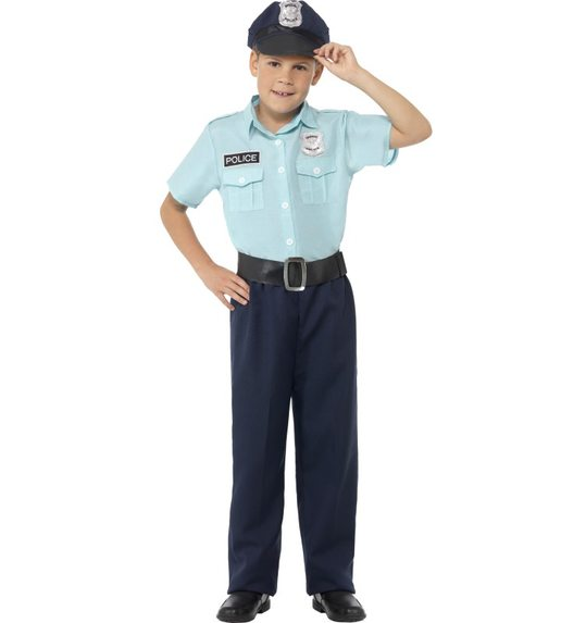Policeman costume for children