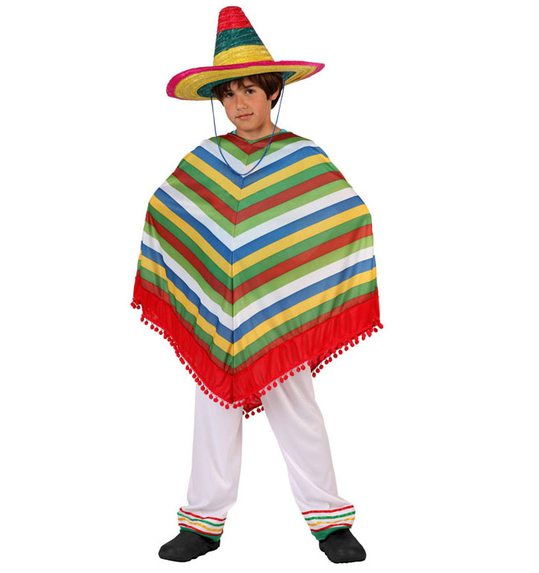 Poncho and trousers Mexican child s