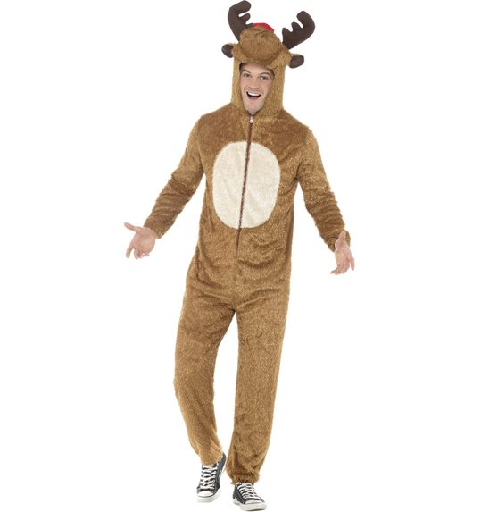 Reindeer costume for adults  sc 1 st  Las Fiestas & Reindeer costume for adults SM-31668 @ Las Fiestas