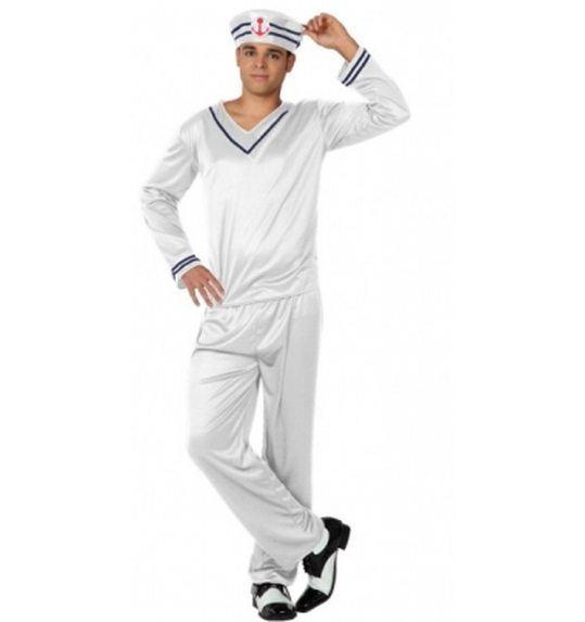 Sailor dress up suit for men